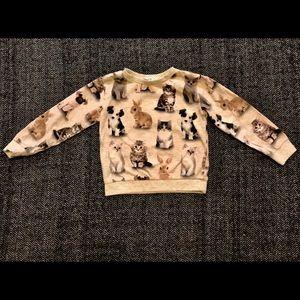 H&M baby animal sweatshirt 2-4T